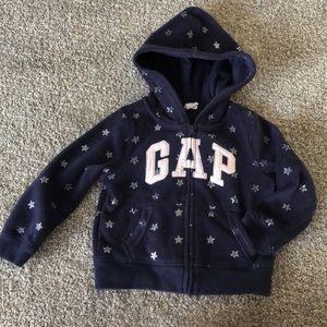 Gap Kids Sz 3T Fleece Zip up